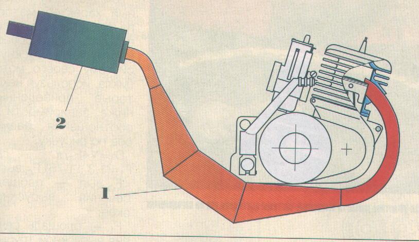 Резонатор для двухтактного двигателя своими руками